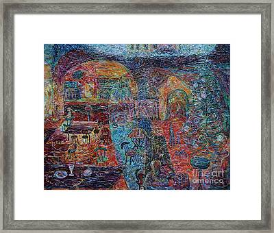 That Distant Year's Christmastime Framed Print