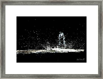 That Falls Like Tears From On High Framed Print by Bob Orsillo