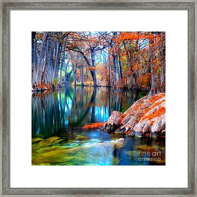 That For Which I'm Thankful Framed Print