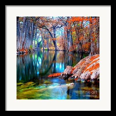Riverbed Framed Prints
