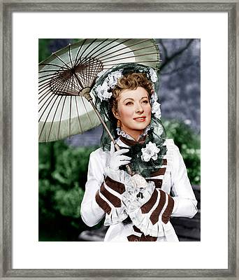 That Forsyte Woman, Greer Garson, 1949 Framed Print by Everett