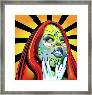That Girl Framed Print