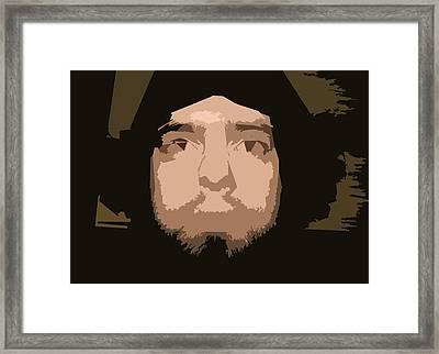 That Guy Again Framed Print by Joshua Sunday
