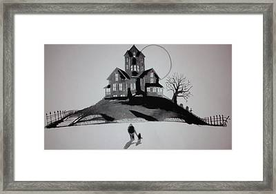 That House Framed Print by Ronald Mcduff