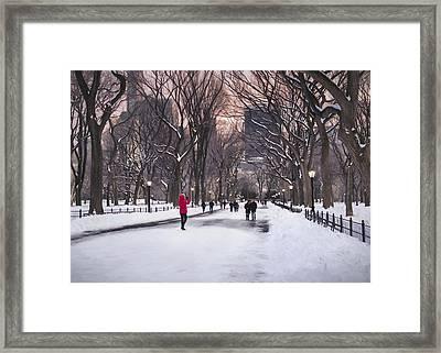 That Kodak Moment Impressionism Framed Print by Eduard Moldoveanu