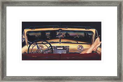 That Night On Walters Hill Framed Print by Mike Hill