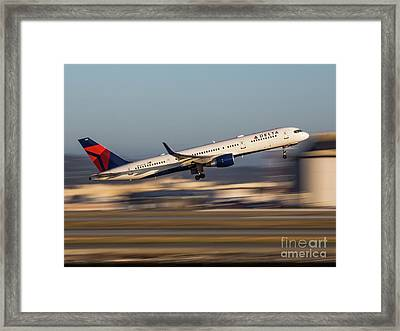 That Rush Framed Print