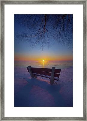 That Very First Moment Framed Print