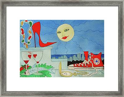 That Very Special Evening Framed Print