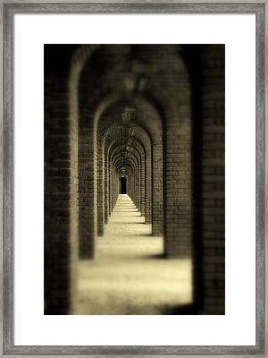 That Was Yesterday Framed Print by Susanne Van Hulst