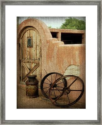 The Western Style Framed Print by Lucinda Walter