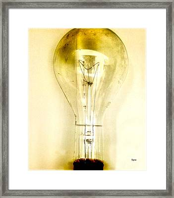 That Which Is Light  Framed Print by Steven Digman