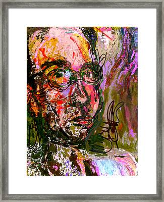 That Which Is Without - That Which Within Framed Print by Noredin Morgan