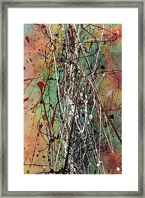 Thatch Framed Print by Chel Bieze