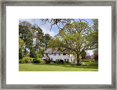 thatched cottage in the New Forest Framed Print by Joana Kruse
