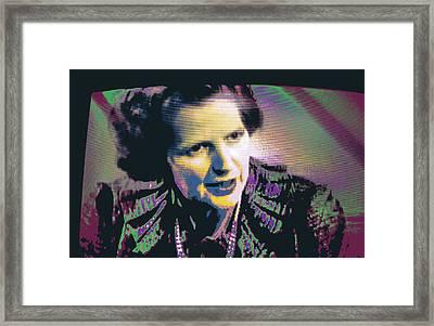 Thatcher Framed Print