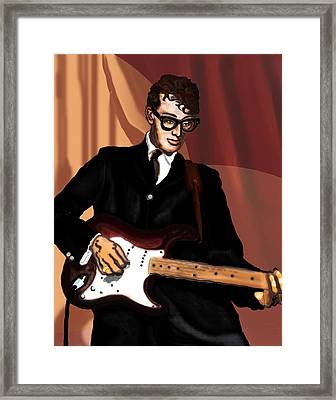 That'll Be The Day- Buddy Holly Framed Print