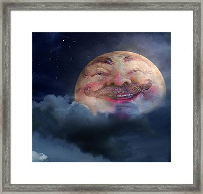 Thats Amore Framed Print by Shannon Story