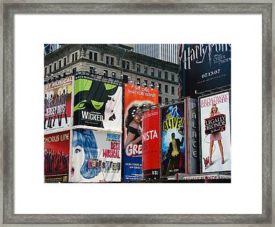 That's Entertainment Framed Print
