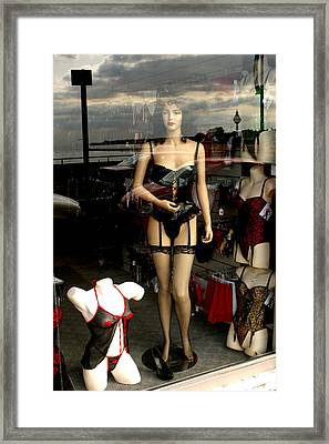 Thats It Just Parade Me Framed Print by Jez C Self