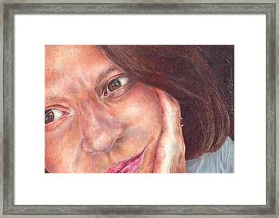 That's Me  Framed Print by Melissa J Szymanski