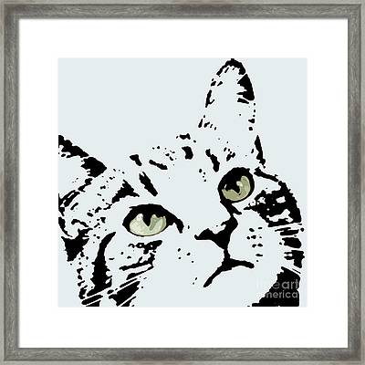 Thats Willie Pet Portrait Framed Print by Pablo Franchi