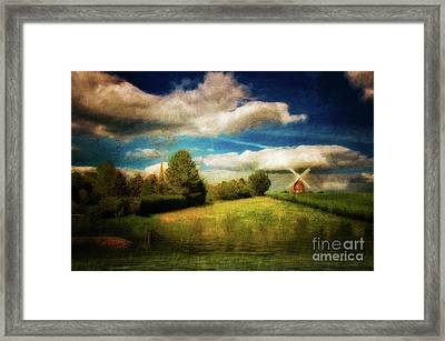 Thaxted With Millpond Framed Print by Jack Torcello