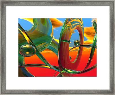 THC Framed Print by Scott Piers