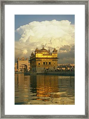 The 16-th Century Golden Temple Framed Print by Martin Gray
