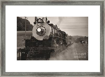 The 1702 At Dillsboro Framed Print by Richard Rizzo