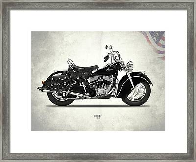 The 1946 Chief Framed Print by Mark Rogan