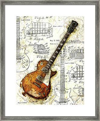 The 1955 Les Paul Custom Framed Print