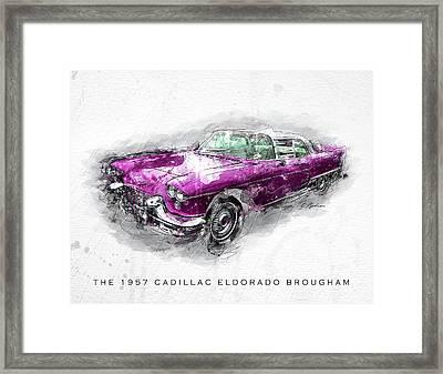 The 1957 Cadillac Eldorado Brougham Framed Print by Gary Bodnar