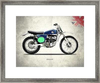 The 1969 Griffon Framed Print by Mark Rogan