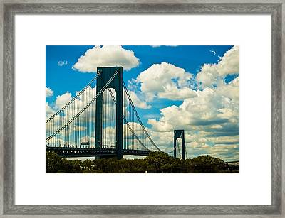The 2 Mile Drive Framed Print