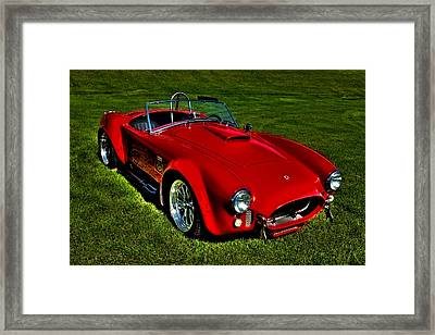 The 2003 Shelby Superformance Mkiii Framed Print