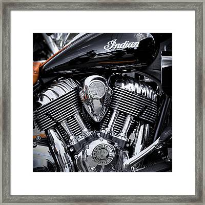 The 2016 Indian Springfield Framed Print