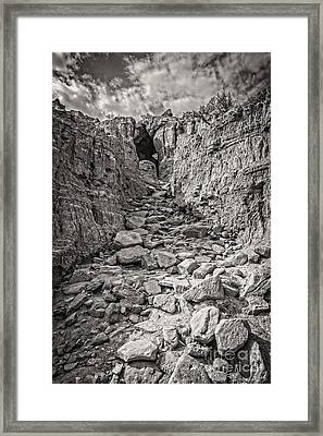 The 23rd Psalm Framed Print by Charles Dobbs