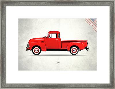 The 3100 Pickup Truck Framed Print