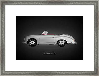 The 356a Speedster Framed Print by Mark Rogan