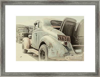 The 37 Framed Print by Steven Digman