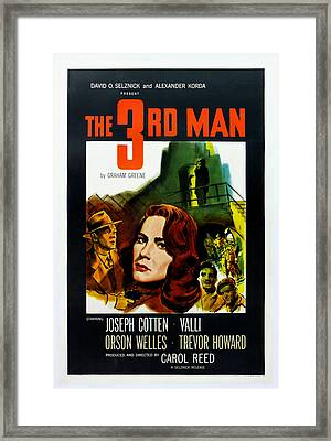 The 3rd Man Framed Print by Georgia Fowler
