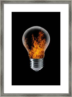 The 4 Elements I Framed Print by Stefan Eisele