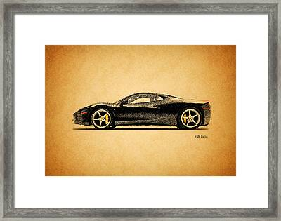 The 458 Framed Print