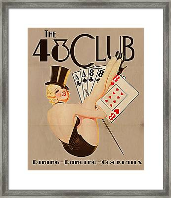 The 48 Club Framed Print