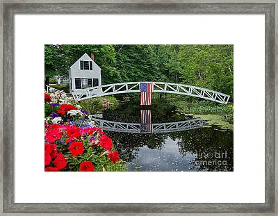 The 4th Of July Framed Print by Susan Garver