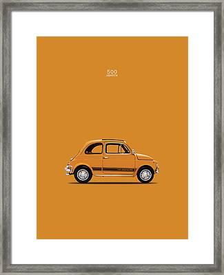 The 500 Abarth 1969 Framed Print