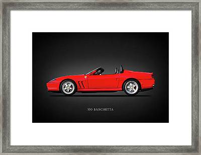 The 550 Barchetta Framed Print