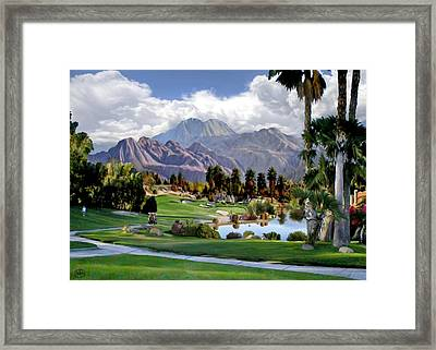 The 5th At Woodhaven Framed Print by Ron Chambers