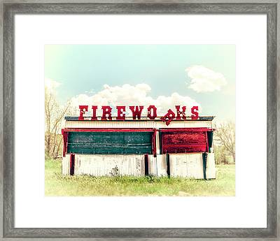 The 5th Of July Framed Print
